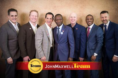 Induction into John Maxwell Team, 2015